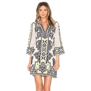 Alice + Olivia Embroidered Lowell Dress